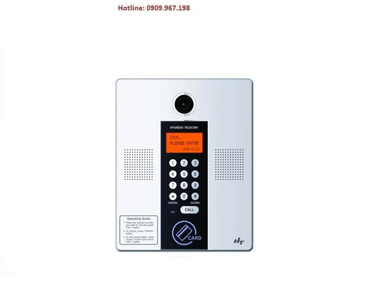 Bảng kiểm soát cửa chính cho chung cư có camera gắn trong ( LOBBY PHONE) Hyundai HLPC-8000