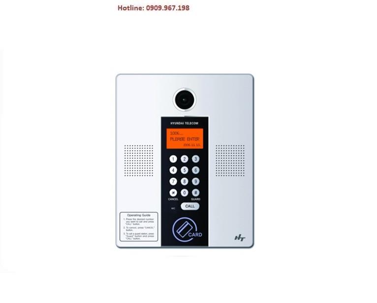 Bảng kiểm soát cửa chính cho chung cư Camera chuông cửa Hyundai HLPC-8200