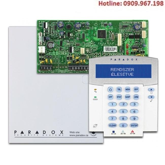 Báo động Paradox có dây SP6000 (2 khu vực)