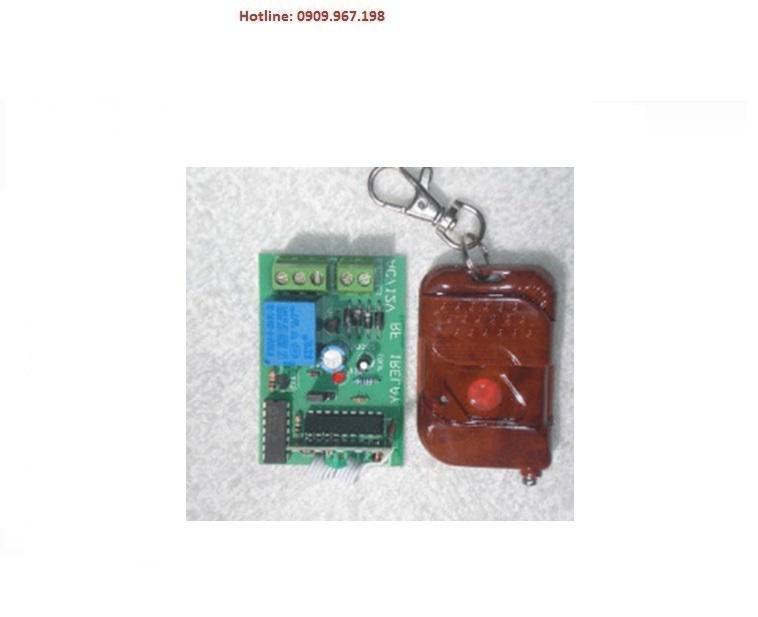 Bo + remote điều khiển tắt mở HT báo động sử dụng tủ NetworX