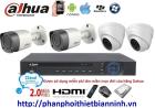 Camera dahua trọn bộ 2.0MP (DVR 4CH kim loại)