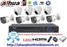 Camera dahua trọn bộ 1.0MP (DVR 8CH Nhựa cao cấp)