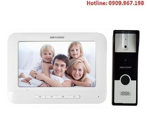 Bộ chuông cửa có hình Hikvision DS-KIS203