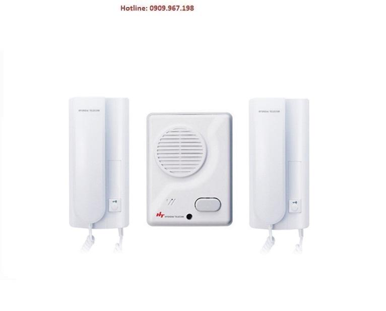 Bộ chuông cửa HYUNDAI HDIP-200/HDR-201PS (Bộ chuông tiếng + Intercom nội bộ)