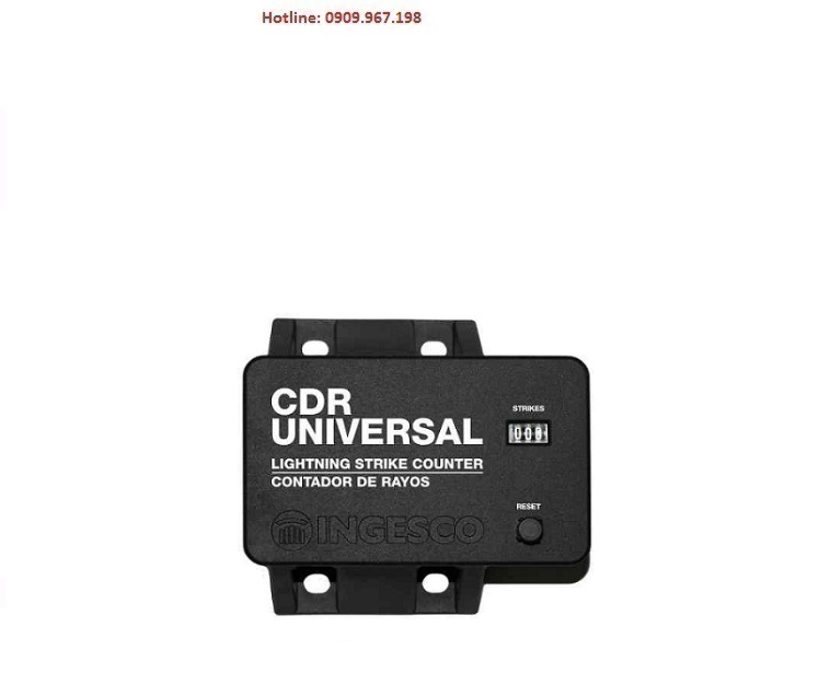 Bộ đếm sét Ingesco CDR-Universal