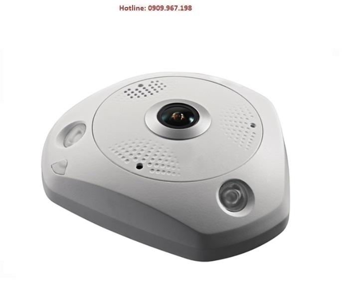 Camera IP toàn cảnh 360º hồng ngoại 12 Megapixel HDPARAGON HDS-792FI-360P