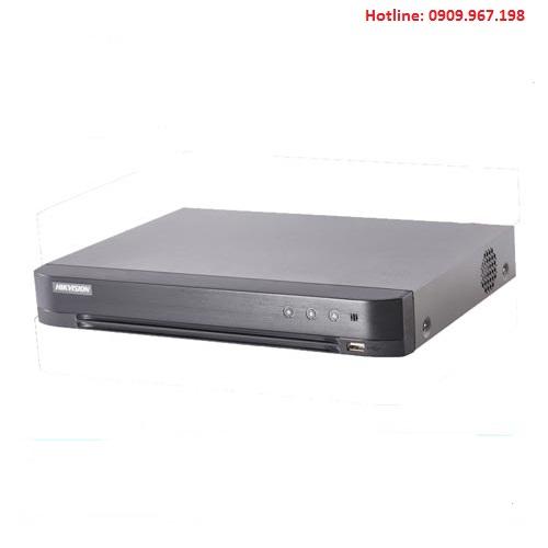 Đầu ghi hình HD-TVI 8 kênh TURBO 4.0 HIKVISION DS-7208HQHI-K1