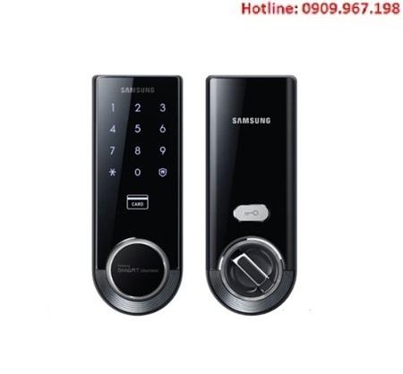 Khóa cửa điện tử Samsung SHS-3321XMK/EN