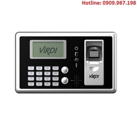Kiểm soát ra vào cửa vân tay, thẻ Virdi AC-4000