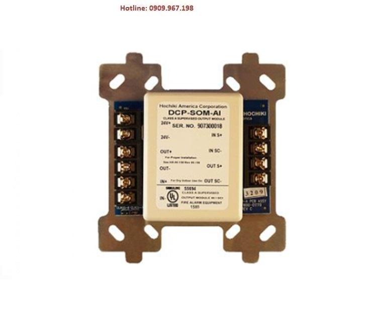 Module điều khiển ngõ ra xuất điện áp 24VDC HOCHIKI DCP-SOM-A