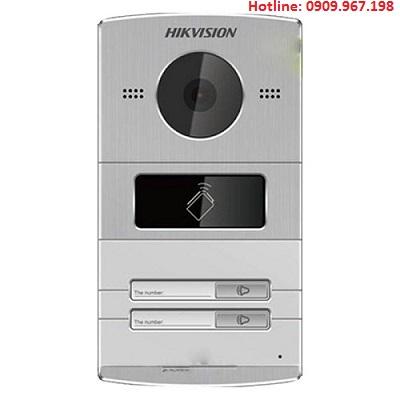 Nút ấn chuông cửa cho villa Hikvision HIK-IP8002IM