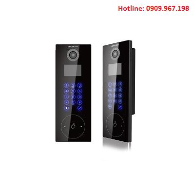 Nút bấm chuông cửa dưới sảnh chung cư Hikvision HIK-IP9102-V