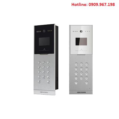 Nút bấm chuông cửa dưới sảnh Hikvision HIK-IP9002-VM