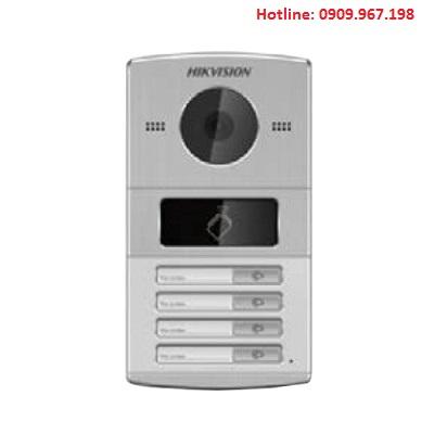 Nút bấm chuông cửa IP 4 cổng cho villa Hikvision HIK-IP8004IM