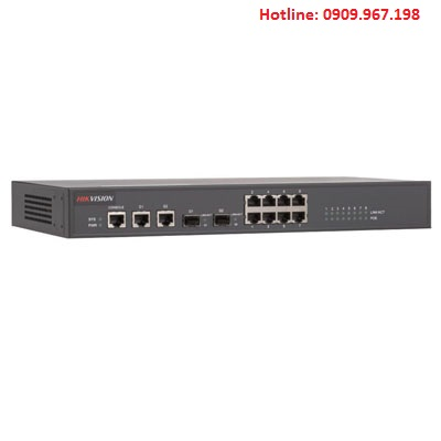 Switch PoE 8 cổng 100M Ethernet Hikvision DS-3D2208P