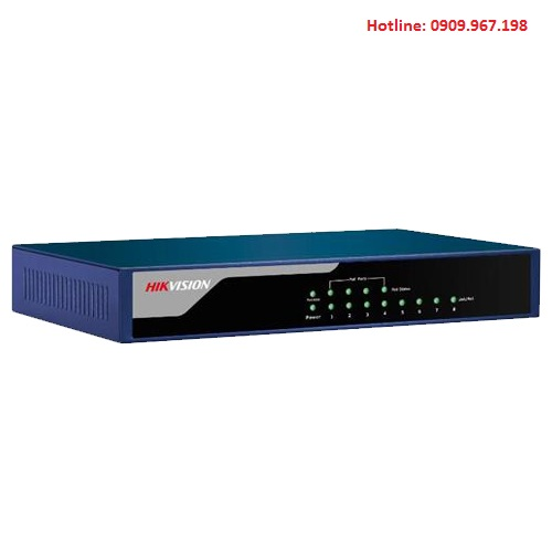 Switch PoE 8 cổng Hikvision DS-3E0108P-E