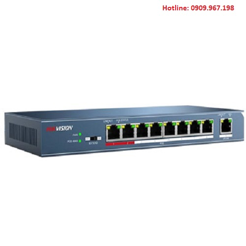 Switch POE Hikvision 8 cổng DS-3E0109P-E/M