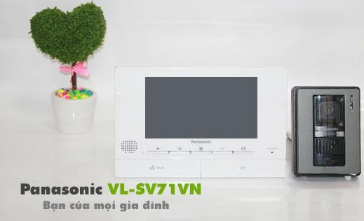 Tại sao chuông cửa màn hình Panasonic VL-SV71VN được khách hàng ưa chuộng