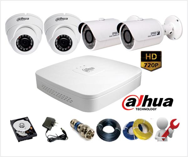 Ưu điểm của camera quan sát AHD và camera quan sát HD-CVI